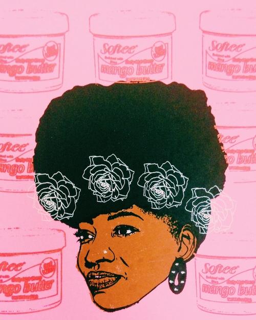 Angela Pilgrim, Afro Puff